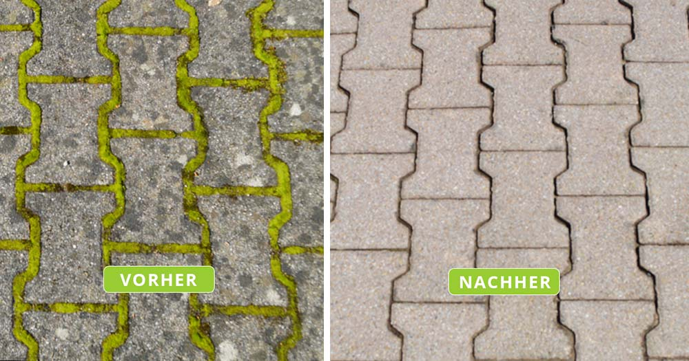 Pflastersteinreinigung Zimpasser Fassadenreinigung
